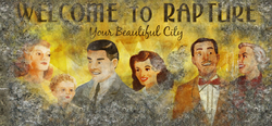 Welcome to Rapture Your Beautiful City Billboard