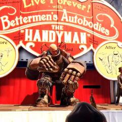 Handyman en la feria del comienzo del juego
