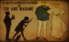 Address as Sir and Madame