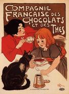 T. A. Steinlen - Chocolate de la Compagnie Francaise Poster 1899