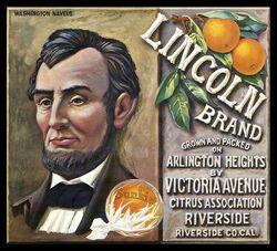 Vintage ad-lincoln brand