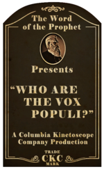Kinetoscope Who Are the Vox Populi