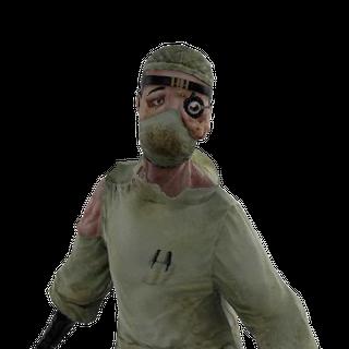 <i>El modelo final del Dr. Grossman visto dentro de BioShock 2.</i>