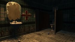 Bio2M Pauper's Drop Bathroom