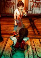 Elizabeth murders Daisy Fitzroy