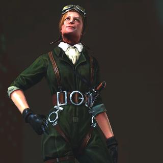Modelo en BioShock 2.