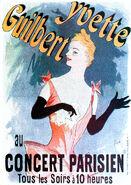 Yvette Guilbert poster