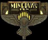 Minervas Den Sign