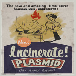 Plasmids Incinerate 3