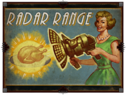 Radar Range Advertisement