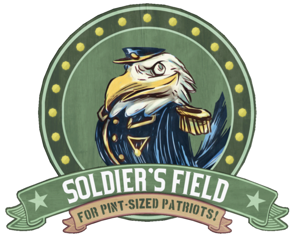 File:Soldier's Field Earnest Eagle sign.png