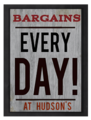 Hudsons Bargains sign.png