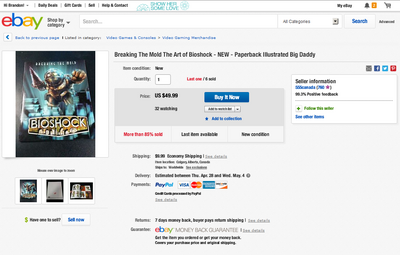 Fake-BioShock-Breaking-the-Mold-Artbook-on-eBay-555canada-Auction