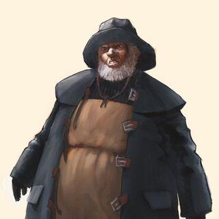 Ilustración conceptual de Zigo antes de convertirse en Splicer.