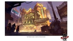 BioI Fink Theatre Concept Art - Ben Lo