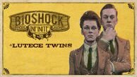 BioShock Infinite Lutece Twins Steam Trading Card