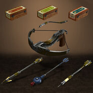 Bioshock infinite burial at sea 2 crossbow pack by armachamcorp-d7cekq1