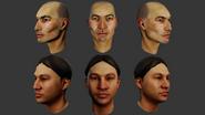 Male Head Evolution 2
