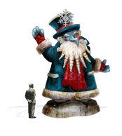 Jack Frost Statue Concept