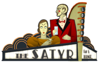 The Satyr Lounge Sign