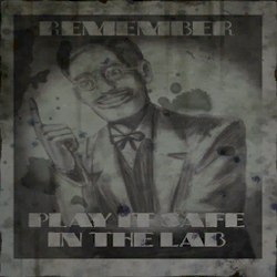 Safety Lab Play Poster