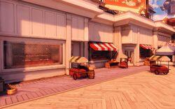 BioI Battleship Bay Upper Boardwalk Shops And Food Carts