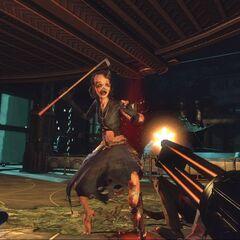 Makineli Tüfek, <i>BioShock 2'</i>de.