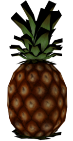 Pineapple render
