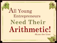 All young entrepreneurs need their arithmetic poster