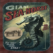 Giant Sea-Horse advertisement