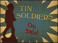 Billboard Fat TIN SOLDIERS DIFF
