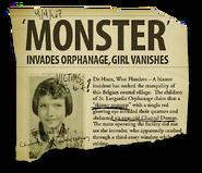 Monster headline