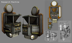 Research machine-Mauricio Tejerina