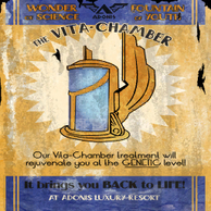 Adonis Vita-Chamber Poster