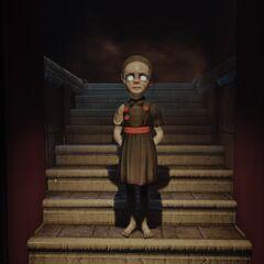 <i>Sally apareciendo en una pesadilla de Elizabeth.</i>