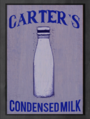 Carters Condensed Milk sign.png