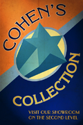 06 Cohen's Collection Poster