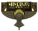 Minerva's Den Sign