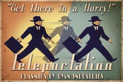Teleportation Advertisement