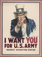 Uncle Sam I Want You - Montgomery Flagg