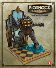 BioShock 10th Anniversary 11' Collectable Big Daddy & Little Sister Statue