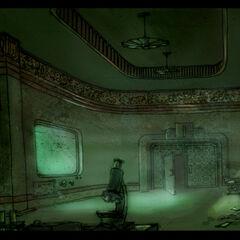 <i>Sonradan Prometheus Noktası olan laboratuvarın muhtemel ön tasarımı. <a class=