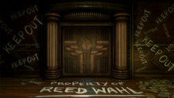 Entrance of Reed Wahl's office in Programming