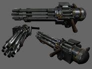 Gatling Gun render