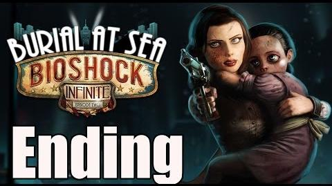 Bioshock Infinite Burial At Sea Episode 2 Ending End Connecting to Rapture