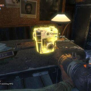 Jack usando el lanza granadas