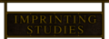 Imprinting Studies sign.png