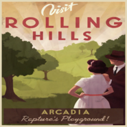 Arcadia RollingHills Poster
