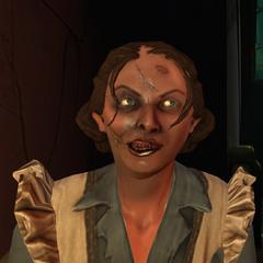 <i>Una mirada de cerca al rostro recombinado de Barbara Johnson.</i>