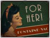 For Her Fontaine Vac ad